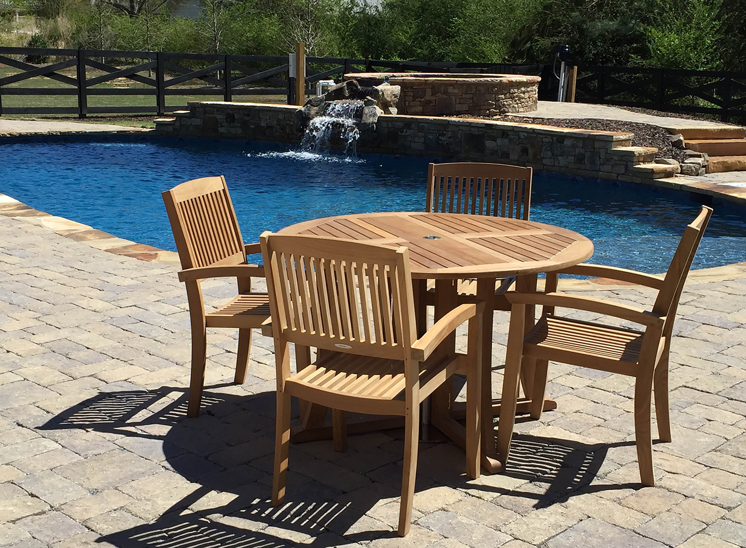 Lynnfield 5 Patio Conversation Set With Gray Beige Cushions The Hom Caribe 4 Wicker Patio