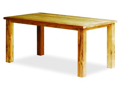 Reclaimed Teak Dining Table - 6 seater