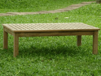 teak coffee table for outdoor lounge sets
