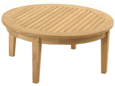 Atlantic Round Teak Coffee Table by Atlanta Teak Furniture