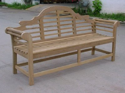 Teak Lutyens Bench By Atlanta Teak Furniture