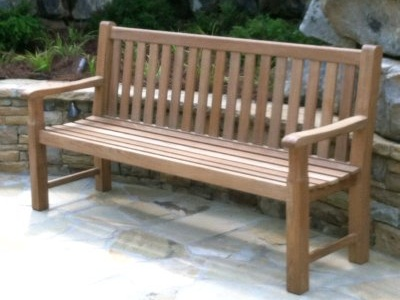 teak bench 6 foot by Atlanta Teak Furniture