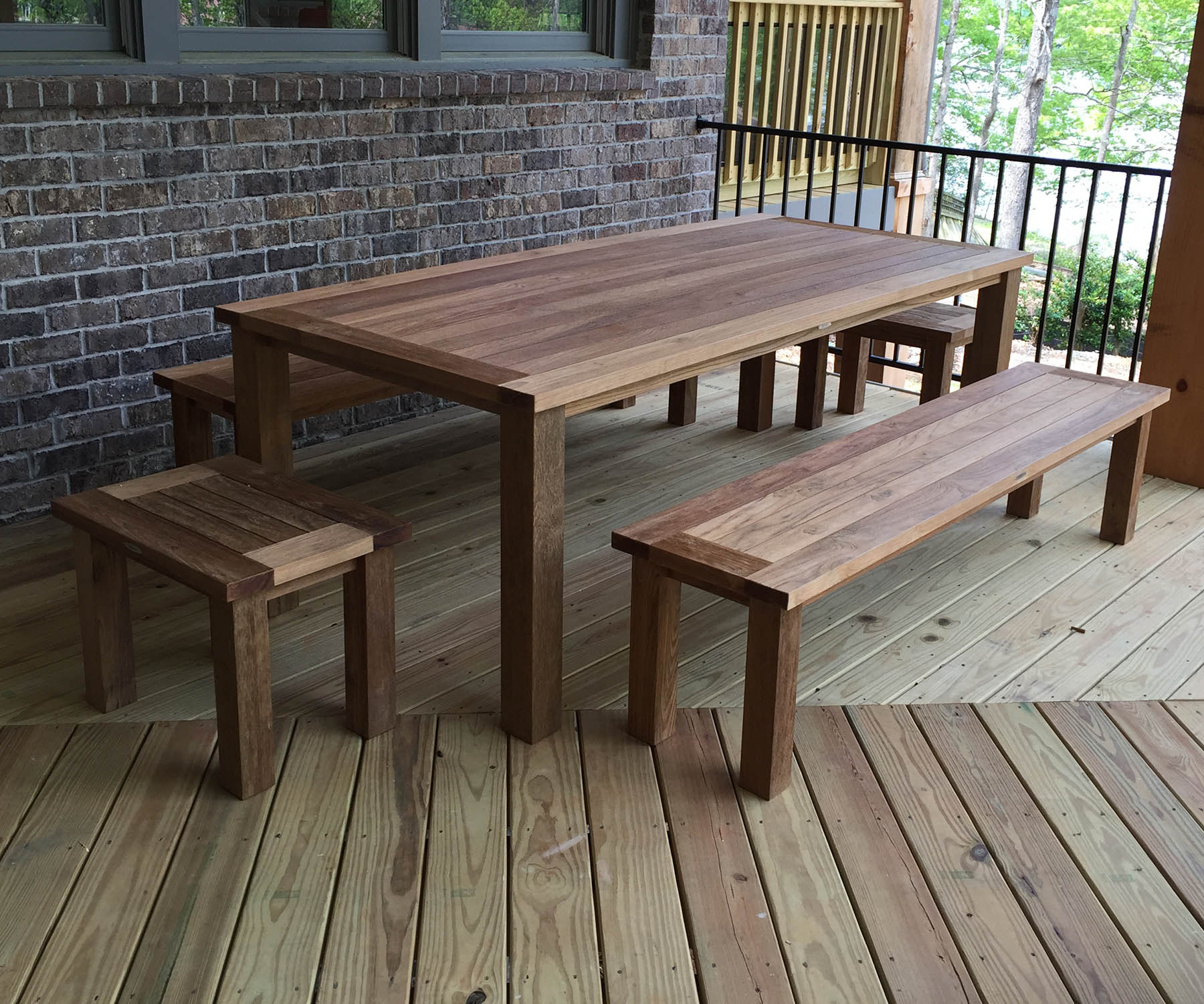 Reclaimed Teak Dining Set