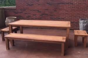 Teak Furniture For Condo Living Atlanta Teak Furniture