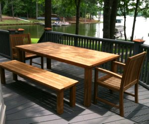 lake oconee teak furniture