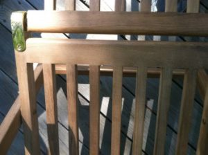 solid joints in teak furnitue