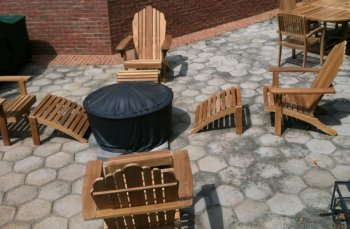 Firepit Furniture   Adirondack Chairs