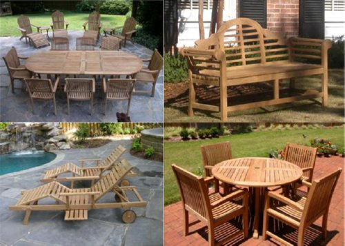 Unique Patio Furniture by Atlanta Teak Furniture