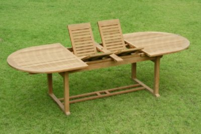 Chelmsford Double Extension Table by Atlanta Teak Furniture