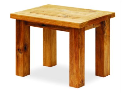 Reclaimed Teak Wood Stool