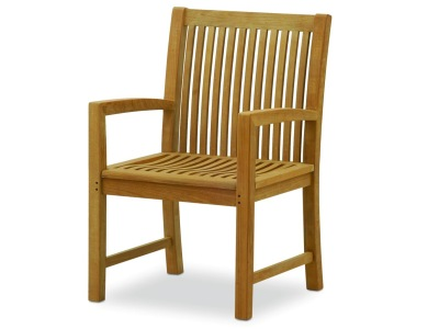 large teak dining chair for outdoor patios