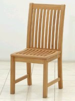 teak side chair