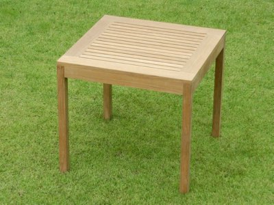 A Teak Cafe Table