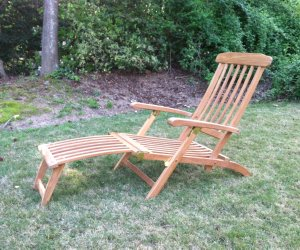 Buy Captains Teak Steamer Chairs Save Up To 60 Off