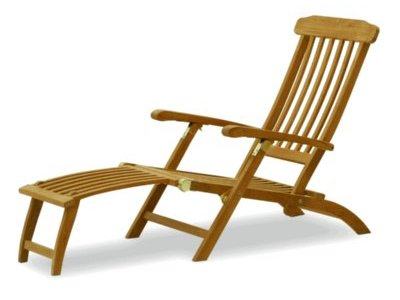A Teak Steamer Chair