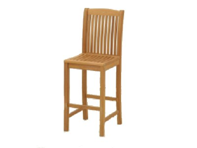 A Royal Teak Bar Stool