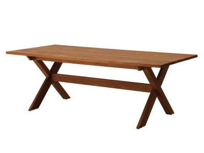 extra long vintage teak dining table