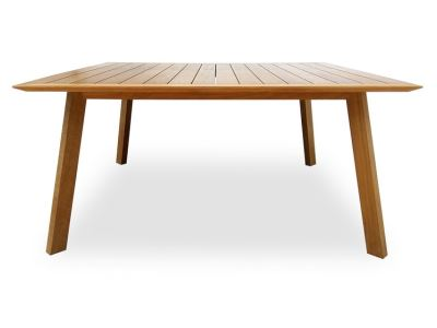 A Square Teak Dining Table