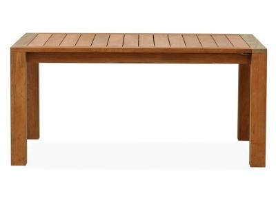 large teak extension table