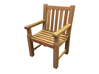 Teak Charleston Arm Chair