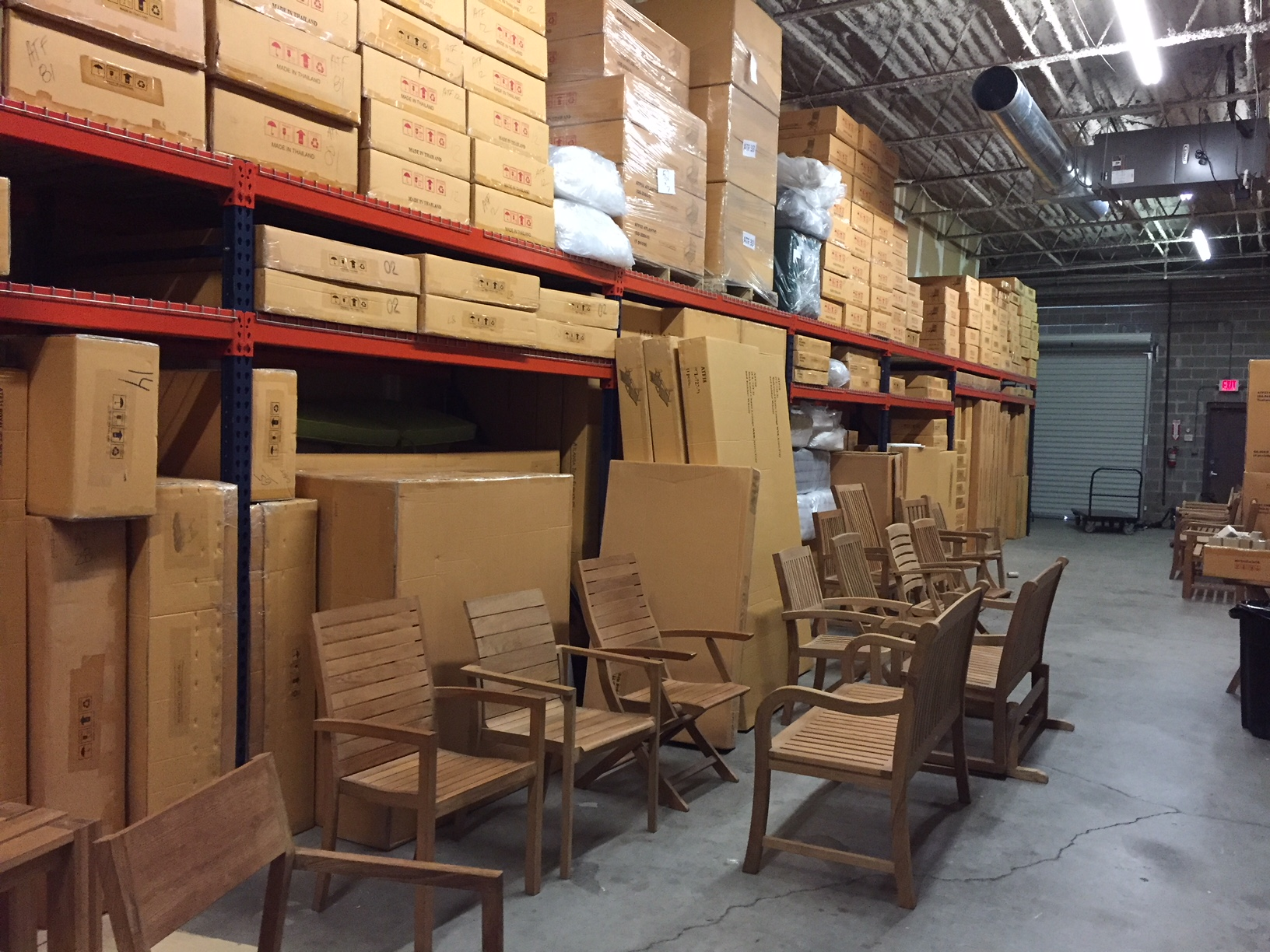 in stock teak furniture