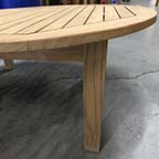 Competitor: Round Coffee table on square base