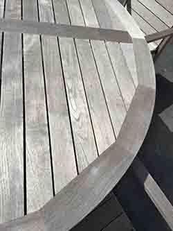 gray teak furniture